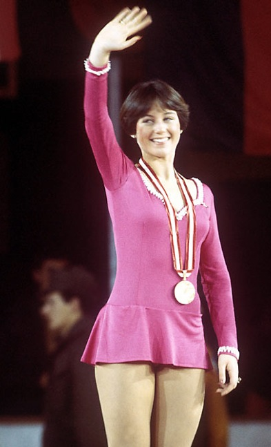 1976 Olympic gold medalist Dorothy Hamill also won Nationals for three straight years, 1974-76.
