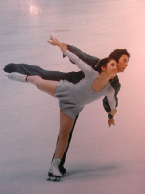 3-time US ice dancing champions, Melissa and Mark Militano. Melissa won twice more in 1974 and 75 with Johnny Johns. She was junior ladies' champ in 1971.