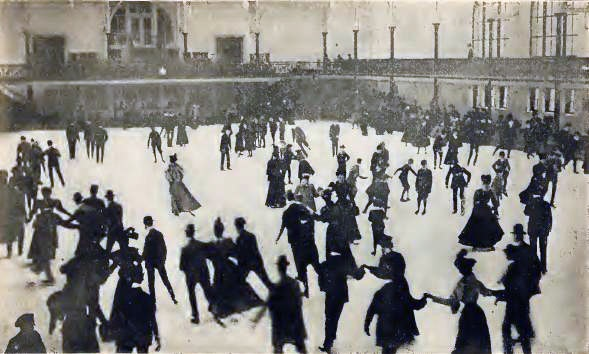 Founded in 1896 along West 66th Street, St. Nicholas Rink was the nation's second indoor ice rink, and was site to the first-ever hockey game between Harvard and Yale University.