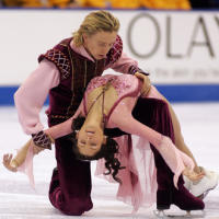 4-time US ice dancing silver medalists Melissa Gregory and Denis Petukhov