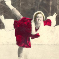 Majorie Parker Smith competed in ice dancing, pairs and singles, and was a member of the first official US Ice Dancing Championship team