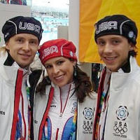 2006 Olympians Melissa Gregory, Denis Petukhov and Johnny Weir
