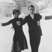 3-time US pairs gold medalists Beatrix Loughran and Sherwin Badger
