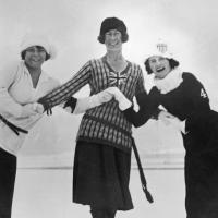 Ladies medalists at the 1924 Olympics